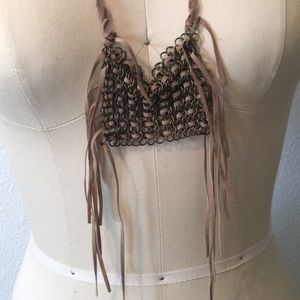 Free people chain necklace